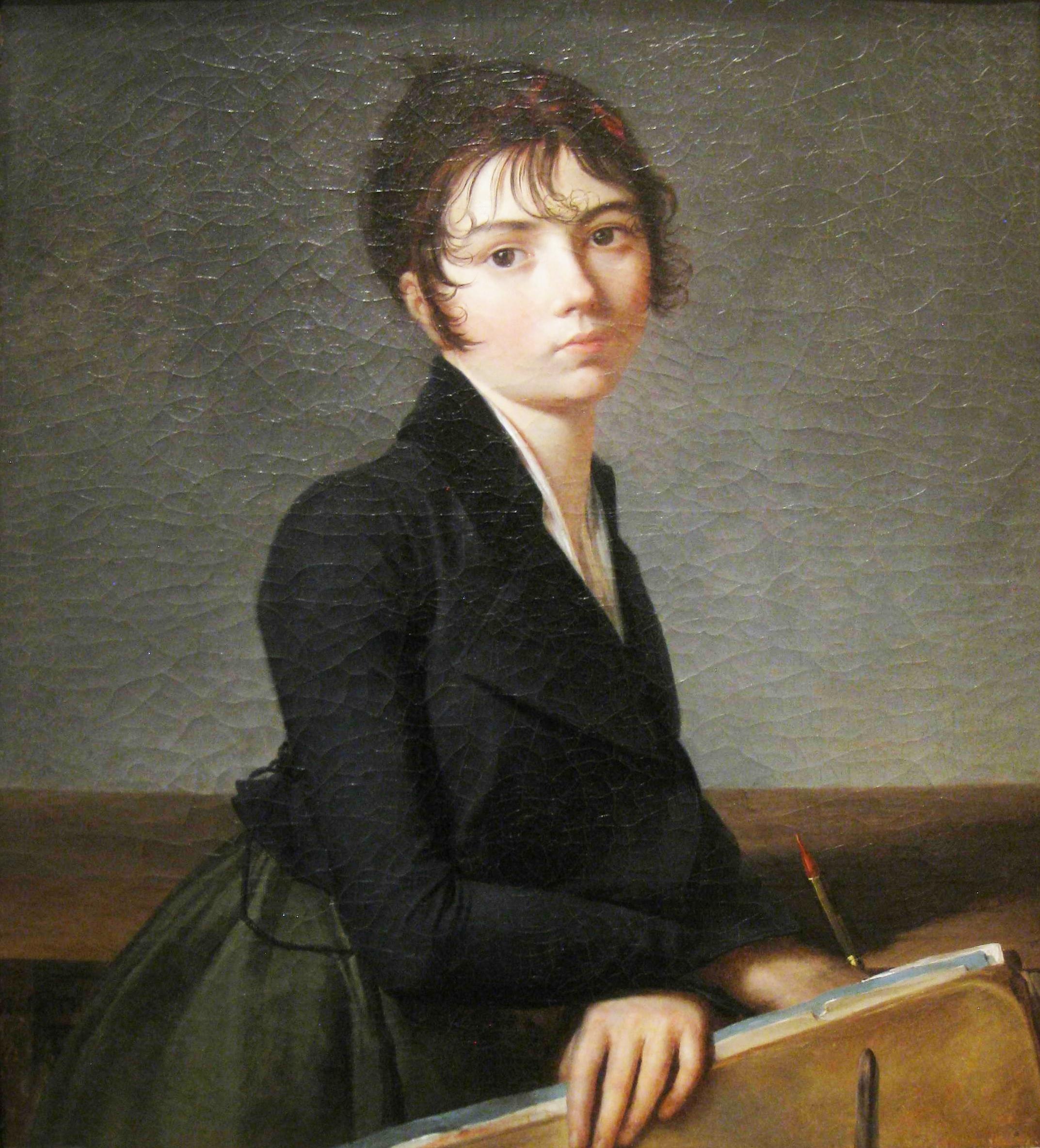 Guillaume Guillon Lethiere portrait 1799