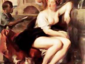 femme toilette