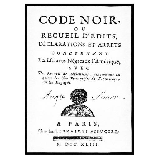 Le code noir - Une autre histoire