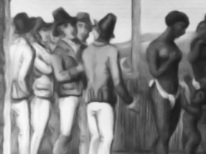 femme esclave marché