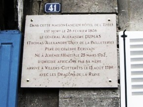 plaque Villers Cotterets GP