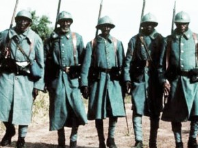 soldats antillais